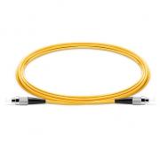 1m (3ft) FC UPC to FC UPC Simplex OS2 Single Mode PVC (OFNR) 2.0mm Fiber Optic Patch Cable