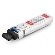 Extreme Networks 10GB-BX10-U-I Compatible 10GBASE-BX10-U BiDi SFP+ 1270nm-TX/1330nm-RX 10km Industrial  DOM LC SMF Transceiver Module