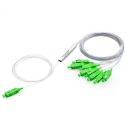 1x8 PLC Fiber Splitter, Mini Module, 900μm, SC/APC, Singlemode