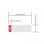 Design Label for 10G XENPAK SR/LR/ER/ZR Transceiver, 1 Roll