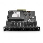 Convertidor WDM 25G de velocidad múltiple de 4 canales (transpondedor), 8 ranuras SFP28 / SFP +, adminte una velocidad hasta 28.1G, módulo enchufable para plataforma de transporte multiservicio FMT