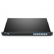 16 Channels C21-C36, LC/UPC, Single Fiber DWDM Mux Demux, Side-A, FMU 1U Rack Mount