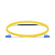 1m (3ft) Câble de Test à Fibre Optique OS2 Monomode LC vers LC UPC Simplex avec Atténuateur de 10dB