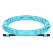 Customized 8/12 Fibers MPO-12 OM3 Multimode Trunk Cable