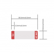 Design Label for 25G SFP28 WDM Transceiver, 1 Roll