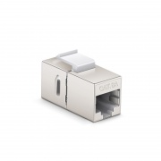 Cat6a RJ45 (8P8C) Shielded Coupler Keystone Insert Module