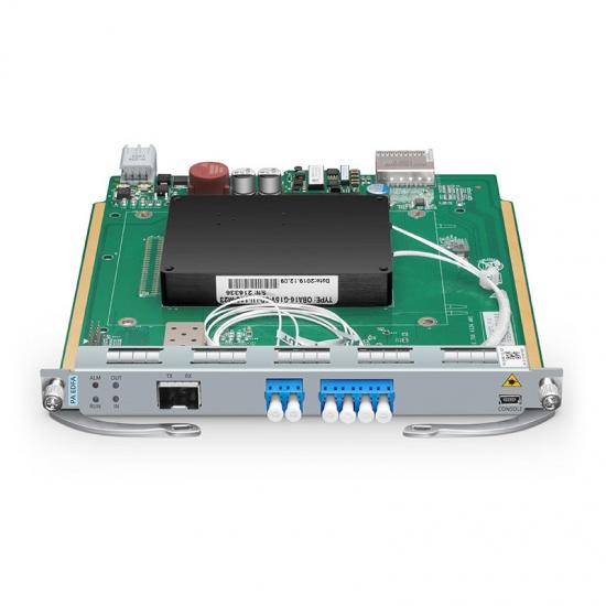 DWDM EDFA前置放大器,25dB增益,16dBm输出光功率