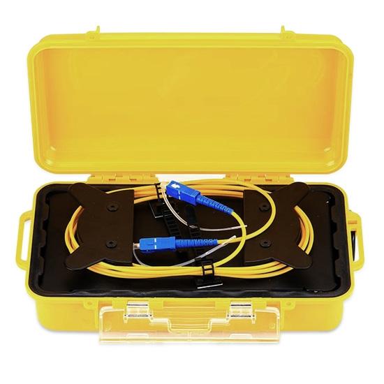 OTDR 测试延长线盒, 单模 1km SC/UPC–SC/UPC