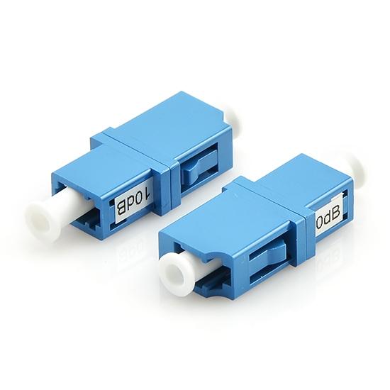 LC/SC/FC/ST/LSH 单模固定式光纤衰减器  ,1~25dB
