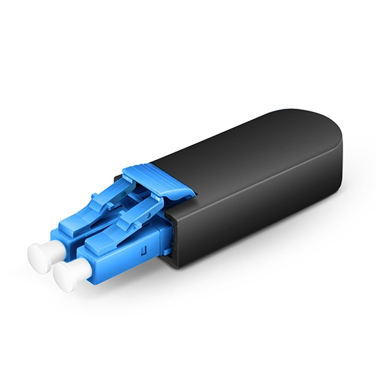LC/UPC Duplex PVC (OFNR) 9/125 Single-mode Fibre Loopback Module