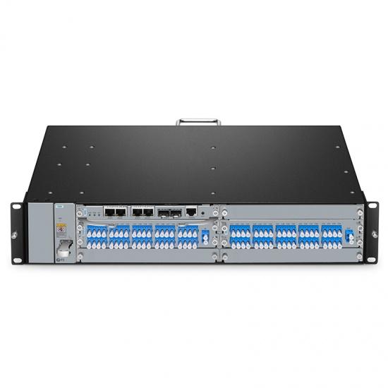 40通道 C21-C60 DWDM密集波分复用器&解复用器