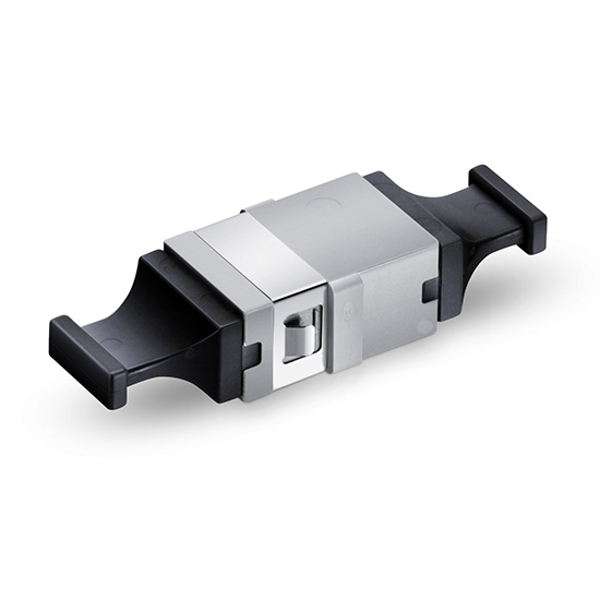 Оптический Адаптер MTP/MPO, без Фланца, Up - Up, Серый