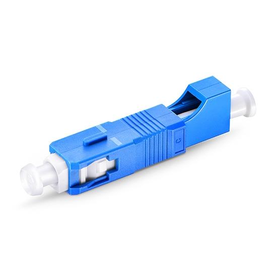 LC/UPC(母)-SC /UPC(公)单工单模光纤适配器 小方口转大方口