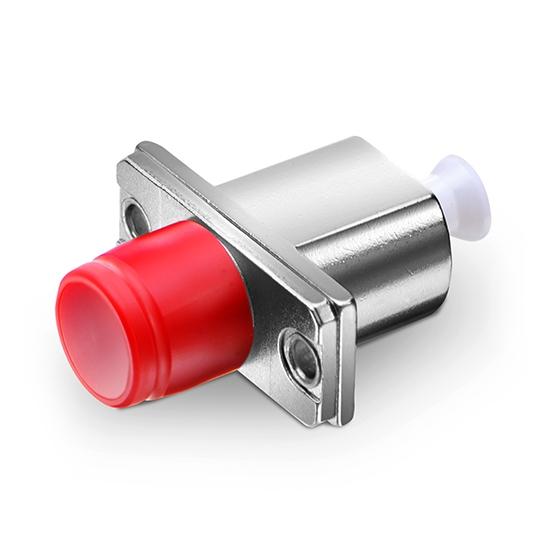LC/UPC(母)-FC/UPC (母)单工金属混合型光纤适配器