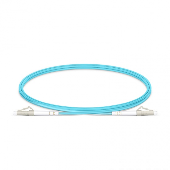 Customized LC/SC/FC/ST/LSH/MU Simplex OM3 Multimode Fiber Optic Patch Cable