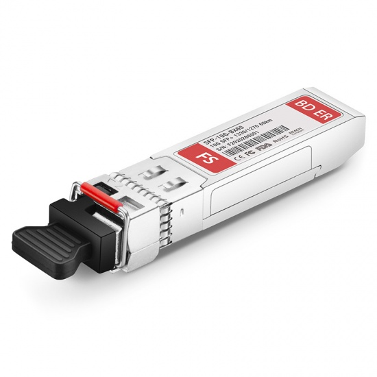中性(Generic)兼容10GBASE-BX BiDi SFP+万兆单纤双向光模块  1330nm-TX/1270nm-RX 60km