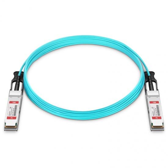 10m 迈络思(Mellanox)兼容MFS1S00-V010E 200G QSFP56 有源光缆