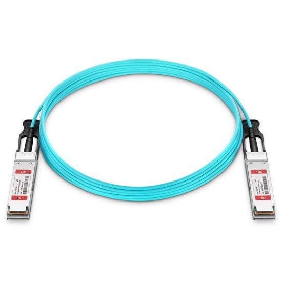 15m 迈络思(Mellanox)兼容MFS1S00-V015E 200G QSFP56 有源光缆