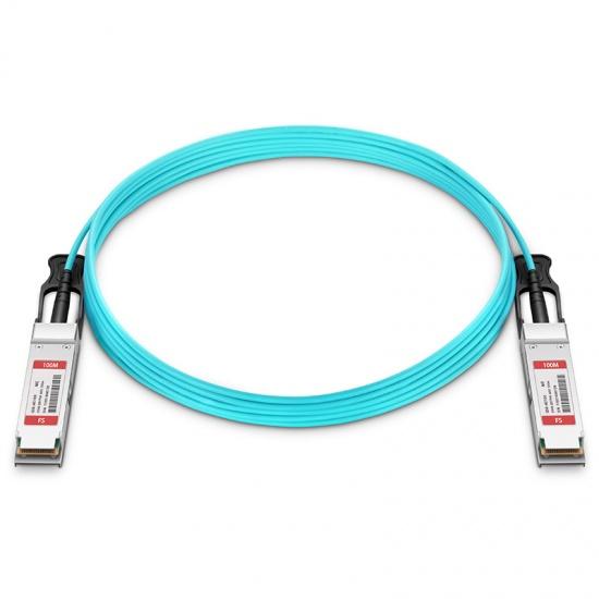 100m 迈络思(Mellanox)兼容MFS1S00-V100E 200G QSFP56 有源光缆