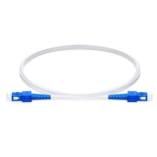 双工单模(OS2)FTTH室内光纤跳线,FRP加强件,LSZH