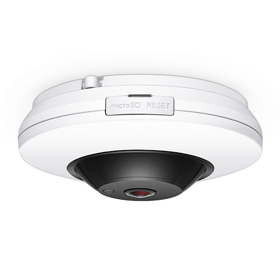 4MP 360 Dome IP Camera Low Light Vision