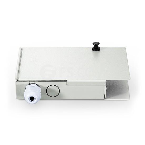 FTB-04壁挂式光纤终端盒,不含尾纤和适配器