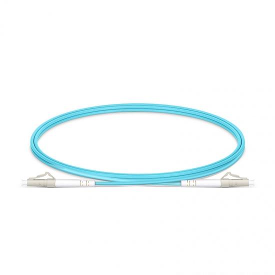 定制LC/SC/FC/ST/LSH 单工多模OM3铠装光纤跳线