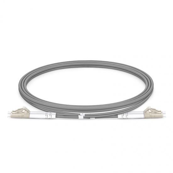 定制LC/SC/FC/ST/LSH 双工多模OM1/OM2 铠装光纤跳线