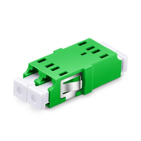 LC/APC auf LC/APC Duplex Singlemode SC Fußabdruck LWL-Adapter/Führungshülse aus Kunststoff ohne Flansch