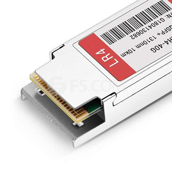 40GBASE-LR4 and OTU3 QSFP+ 1310nm 10km LC Transceiver Module for FS Switches