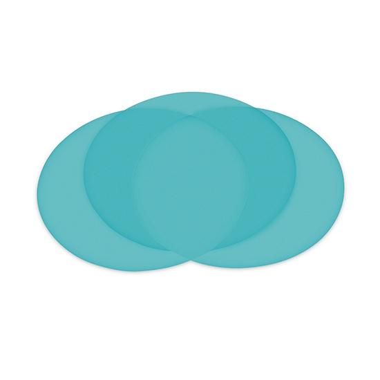 1 Stück Polierfolie mit 127mm Durchmesser, 9μm, blau