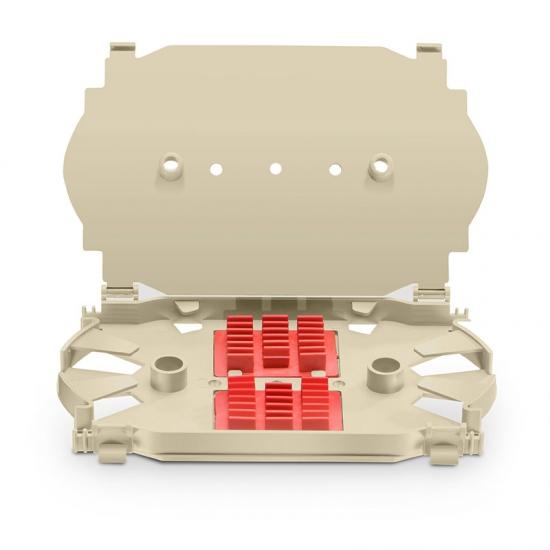 12芯 光纖熔接盤,163.1x100.6x17.5mm