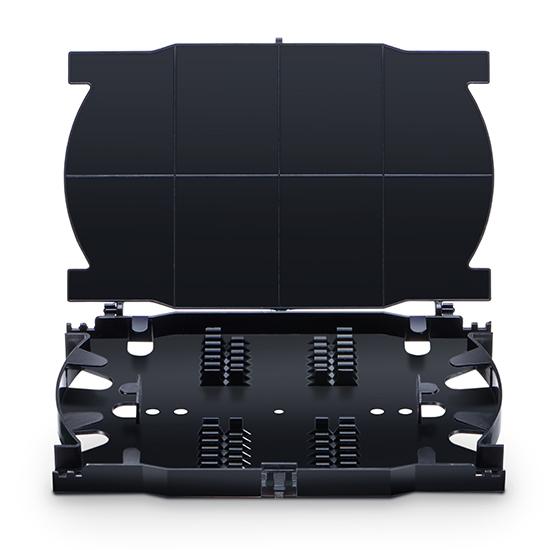 24芯 光纤熔接盘,159.1x104.9x18.3mm