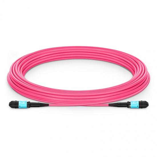 8-144 芯万兆多模(OM4) MPO(12芯)主干光纤跳线