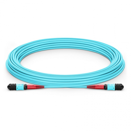 Customised 24-144 Fibres Senko MPO-24 OM3 Multimode Trunk Cable
