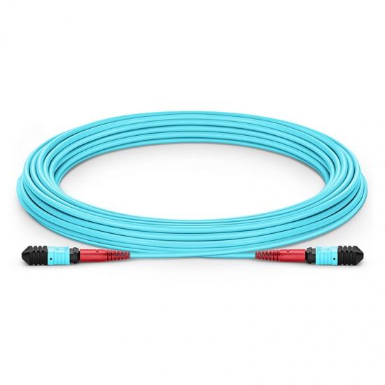 24-144 芯万兆多模(OM3) MPO(24芯)主干光纤跳线