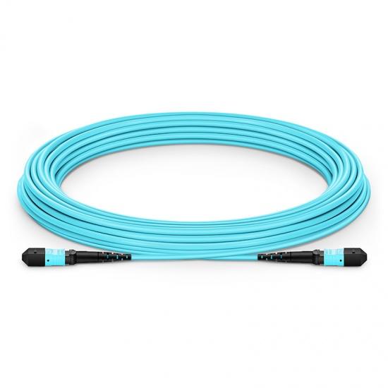Customized 8-144 Fibers MTP-12 OM3 Multimode Trunk Cable