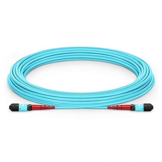 24-144 芯万兆多模(OM3) MTP(24芯)主干光纤跳线
