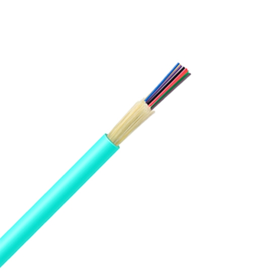 24 Fibres Multimode 50/125 OM3, LSZH, Non-unitized Tight-Buffered Distribution Indoor Cable GJFJV