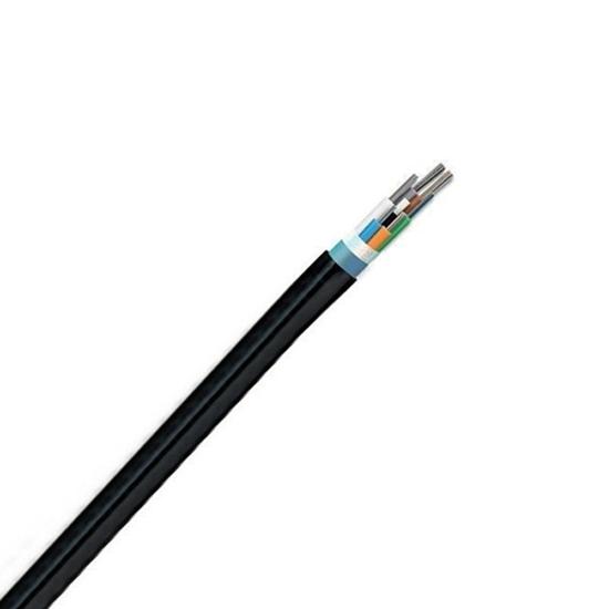 144 Fibers Singlemode 9/125 OS2, Single-Armored Single-Jacket,  Ribbon Loose Tube Waterproof Outdoor Cable GYDTA