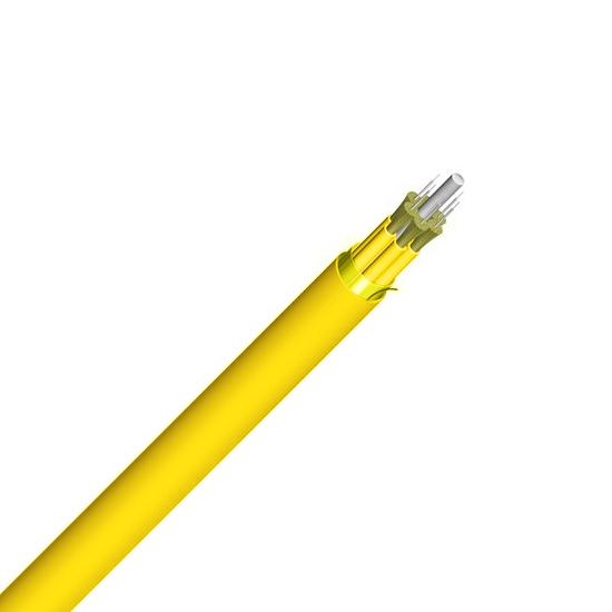 4芯单模OS2 9/125μm 紧包LSZH室内分支光缆