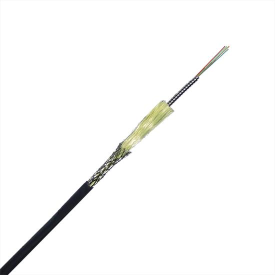 双芯单模单铠装野战光缆