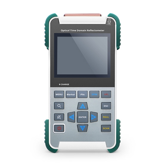FOTR-203 手持式OTDR光时域反射仪 (1310±20nm/1550±20nm, 32/30dB)