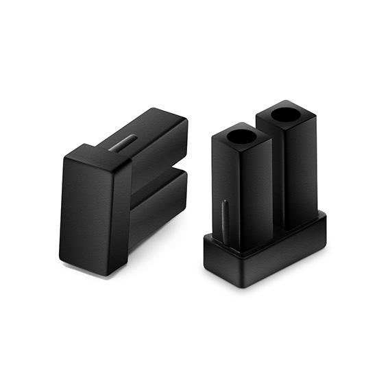 A类双纤LC接口防尘帽 SFP XFP SFP+光模块专用 (100pcs/包)