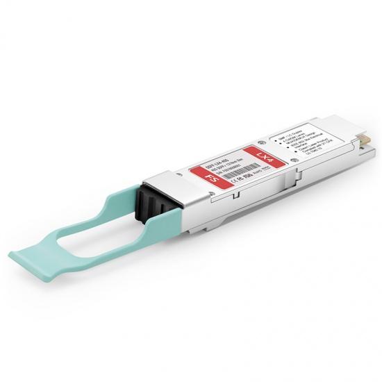飞速(FS) 40GBASE-LX4 QSFP+单多模光模块 1310nm 2km LC