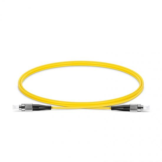 1m FC/UPC-FC/UPC单工单模OS2光纤跳线-2.0mm PVC(OFNR)