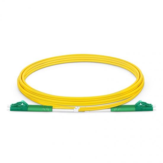 2м (7ft) LC/APC - LC/APC Оптический Патч-корд Duplex 9/125 SM OS2 2.0mm PVC(OFNR)