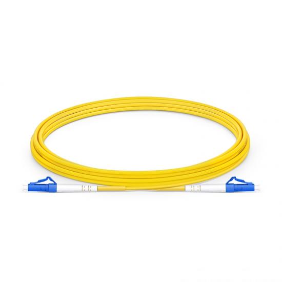 3m LC/UPC-LC/UPC 单工单模 OS2光纤跳线 -2.0mm LSZH