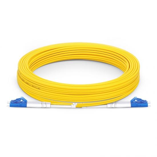 Cable/latiguillo/jumper fibra óptica internet 10 metros LC/UPC a LC/UPC OS2 9/125 monomodo LSZH 2.0mm