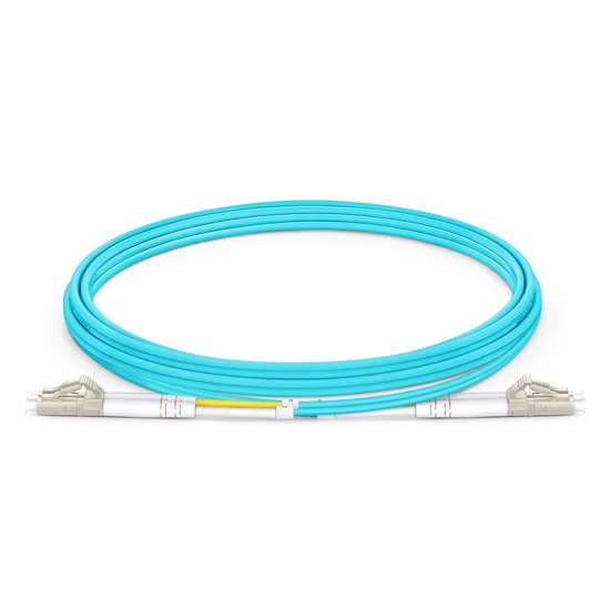 2m LC/UPC-LC/UPC 万兆双工多模OM3光纤跳线 - 2.0mm LSZH